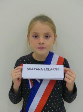 Shayana LELARGE