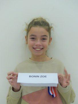 Zoe BONIN